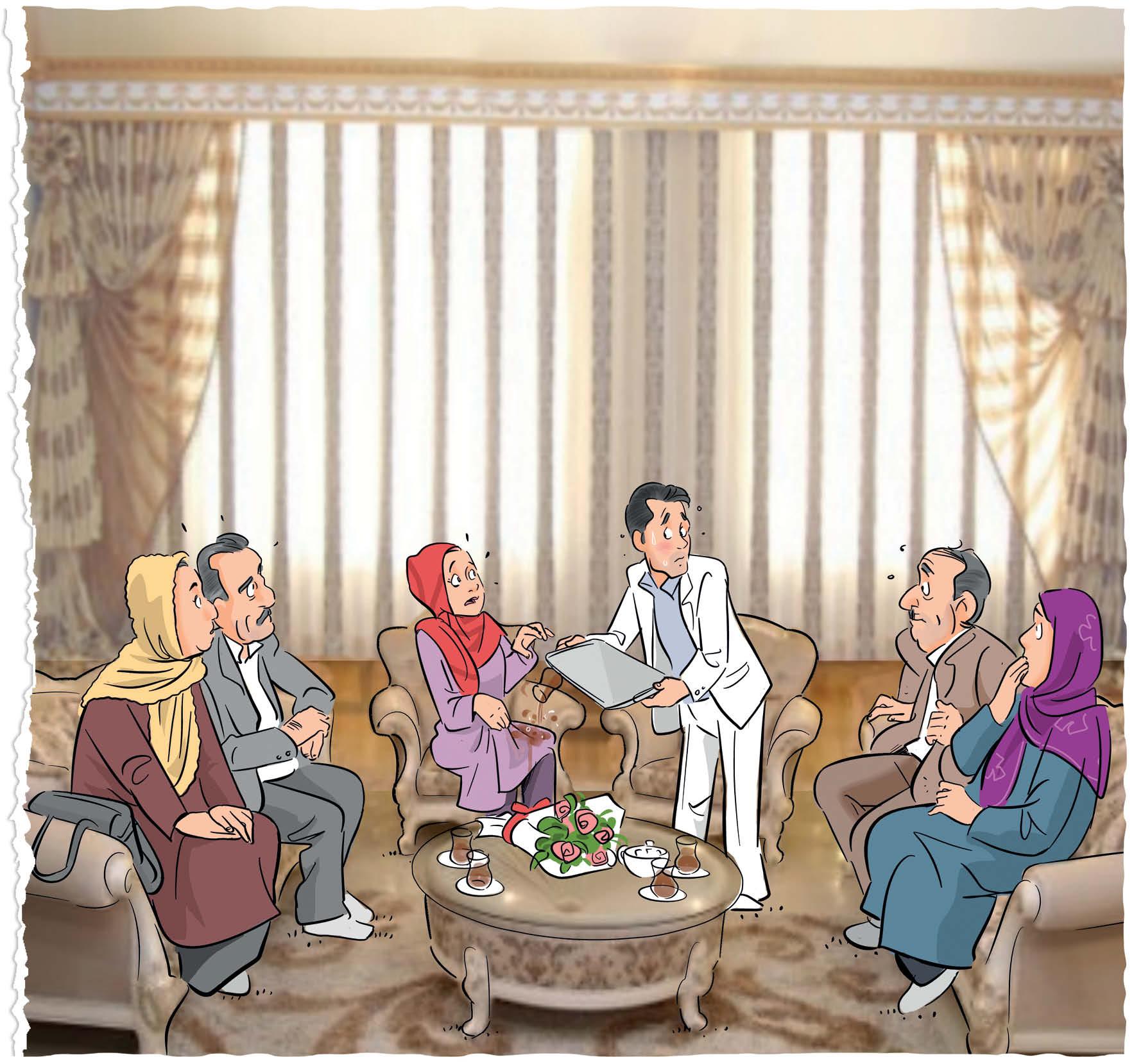 تصویرسازی از سعید مرادی